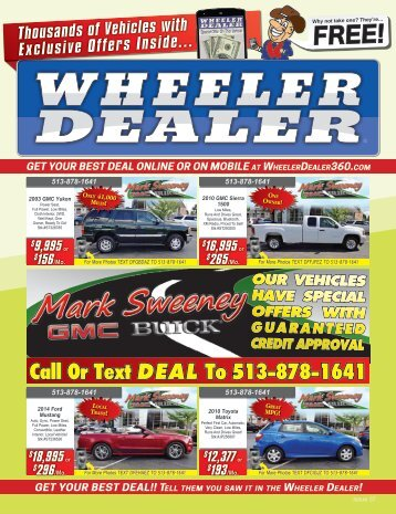 Wheeler Dealer Issue 37, 2016