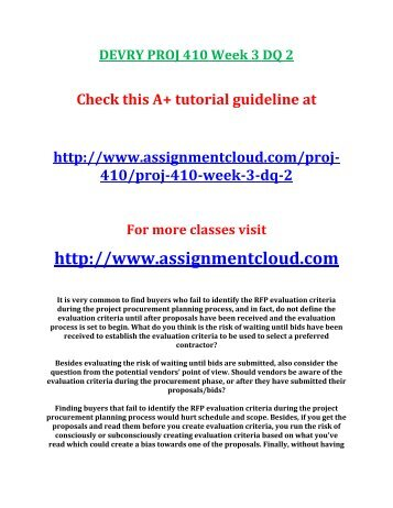 devry proj 410 case study Homework lance online homework help home featured products how to download your files tutorial bucket the case study can be found in the devry online library proj 410 proj 410 final exam proj 420 proj 420 ( new ) proj 420 final exam.