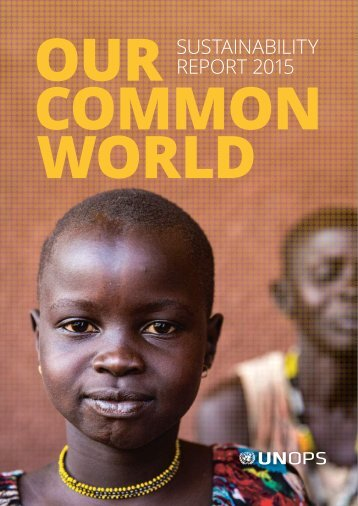 Our Common World - Sustainability Report 2015