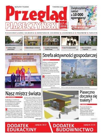 """""""Przegląd Piaseczyński"""" , Wydanie 117"""