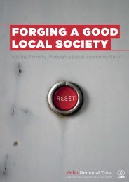 FORGING A GOOD LOCAL SOCIETY