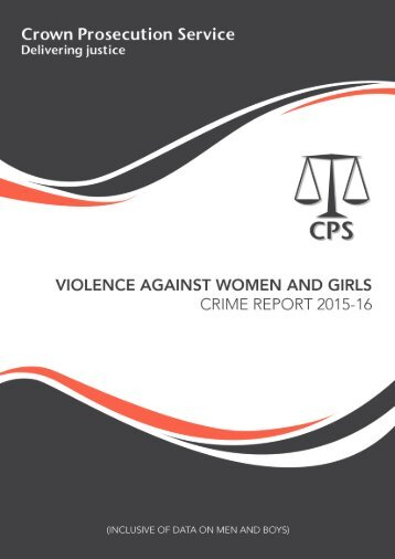 Violence against Women and Girls Crime report contents
