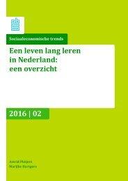 Werkloosheid Een 2004-2011 leven lang leren in Nederland een overzicht 2016 | 02
