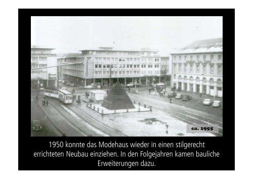 Präsentation Modehaus Carl Schöpf