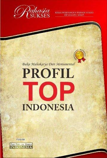 Contoh Buku PROFIL TOP INDONESIA