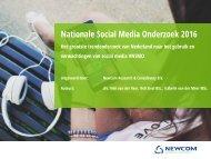Nationale Social Media Onderzoek 2016