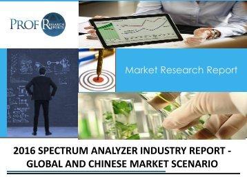 Spectrum Analyzer Industry, 2011-2021 Market Research