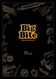Big Bite Restaurant Menu