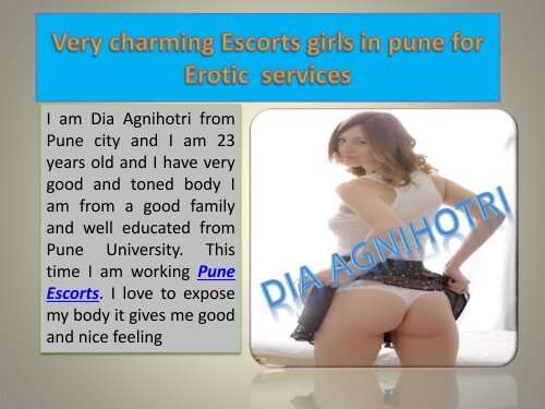 Dia Agnihotri is very hot and sexy pune escorts