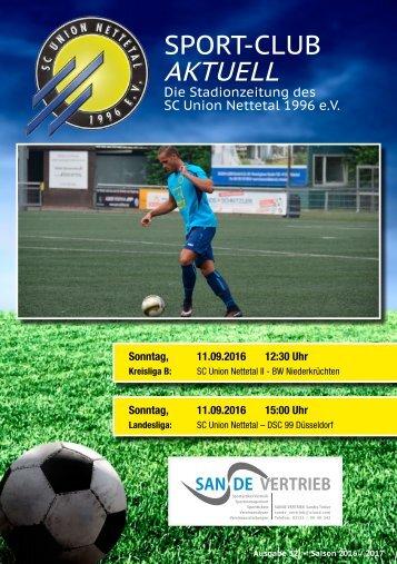 Sport Club Aktuell - Ausgabe 32 - 11.09.2016