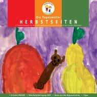 HERBSTSEITEN Die Tagesmütter - Tagesmütter Steiermark