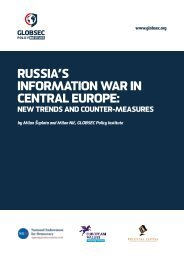 RUSSIA'S INFORMATION WAR IN CENTRAL EUROPE