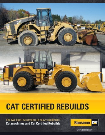 CERTIFIED REBUILDS