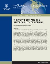 THE VERY POOR AND THE AFFORDABILITY OF HOUSING