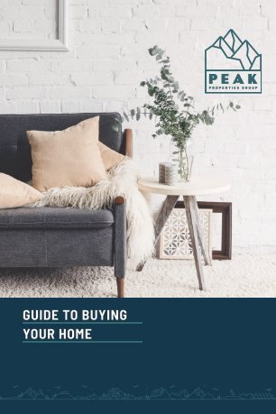 Peak Properties Buyers Guide - 2016