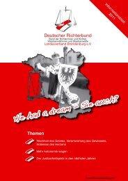 Download dieser Ausgabe - Deutscher Richterbund Landesverband ...