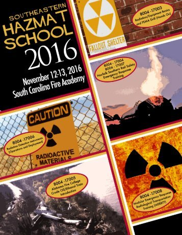 Southeastern HazMat School 2016