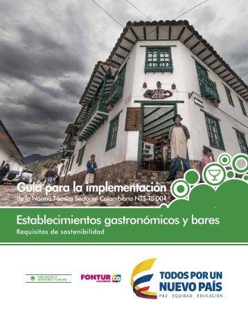 implementación Establecimientos gastronómicos y bares