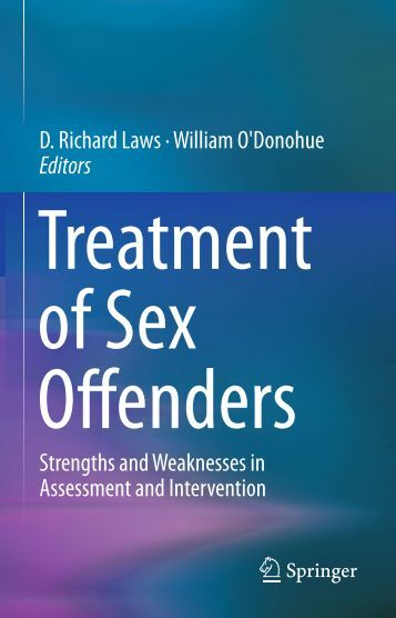 effective treatment for adolescent sex offenders