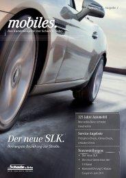SCHADE Kundenmagazin