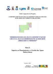 Hidrogeologia da Bacia Sedimentar do Urucuia: Bacias - CPRM