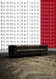 Kommunikations Design Kommunikations Design ... - Gattner