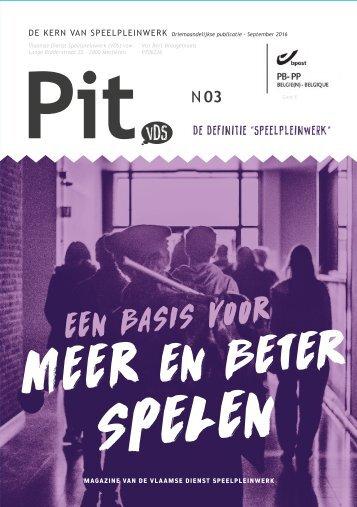 Pit. n°3- 2016/09