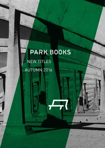Park Books New Titles Autumn 2017
