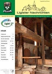 November 2011 - Ligist