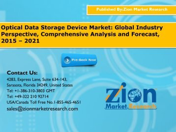 Optical Data Storage Device Market