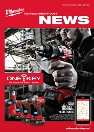 Milwaukee heavy duty nieuws