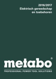 Metabo Catalogus 2016/17