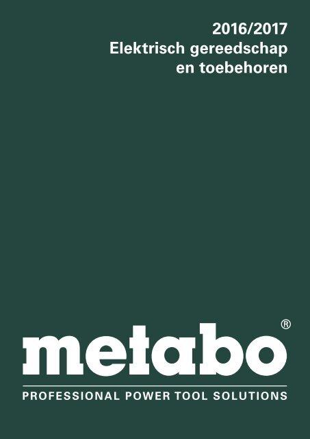 Metabo Catalogus 2016/17