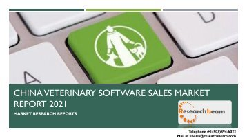 China Veterinary Software Sales Market Report 2021