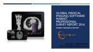 Global Medical Imaging Software Market Professional Survey Report 2016