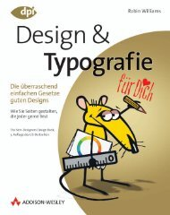 Design & Typografie  - *ISBN 978-3 ... - Addison-Wesley