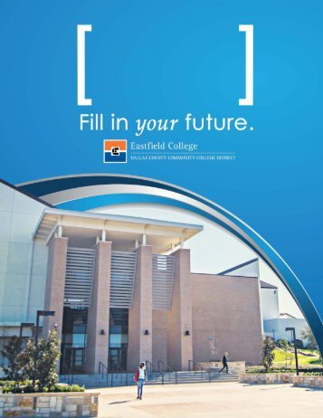 2016 Eastfield College Viewbook