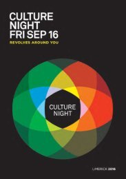 Culture Night 2016 Revolves Around You!