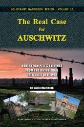 CARLO MATTOGNO · THE REAL CASE AUSCHWITZ
