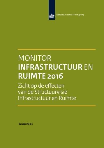 MONITOR INFRASTRUCTUUR EN RUIMTE 2016