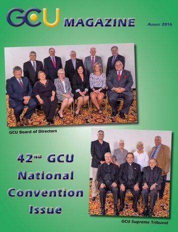 August 2016 GCU Magazine