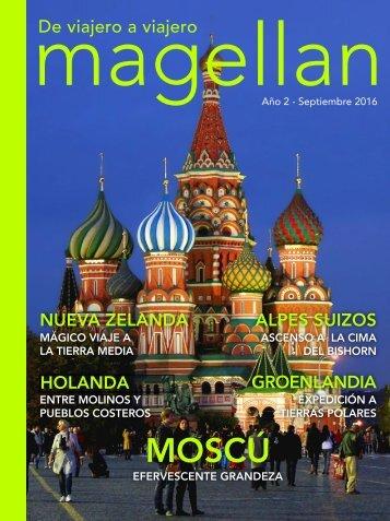 Revista de viajes Magellan - Septiembre 2016