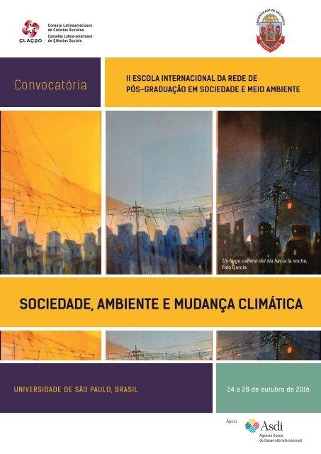 SOCIEDADE AMBIENTE E MUDANÇA CLIMÁTICA