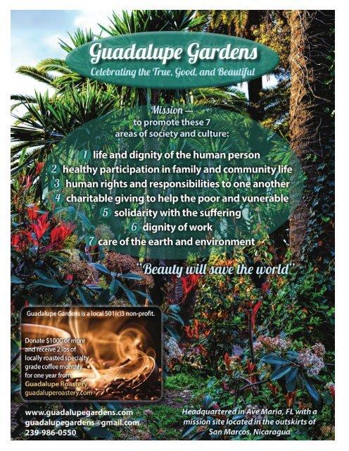 Ave Maria Living Magazine | Issue # 1 | September 2016