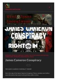 The James Cameron Conspiracy