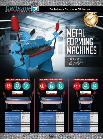 Catálogo Carbone Metal Forming Machines
