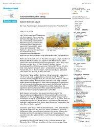 Wiesbadener Tagblatt · Kulturnachrichten - Silke Andrea Schmidt