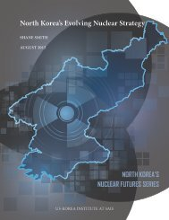 North Korea's Evolving Nuclear Strategy