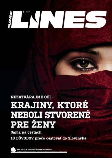 In Drive Magazín Slovak Lines 9 2016