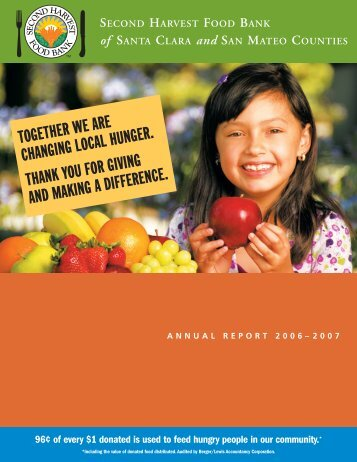 Together we are changing local hunger. Thank you for giving and ...